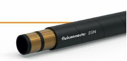 Fluiconnecto 2SN - Hydrauliekslang 2 Gevlochten Staalinlagen product photo