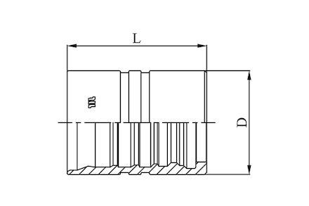 M01500 - Interlock slanghuls voor zware toepassingen (4 spiralen) product photo
