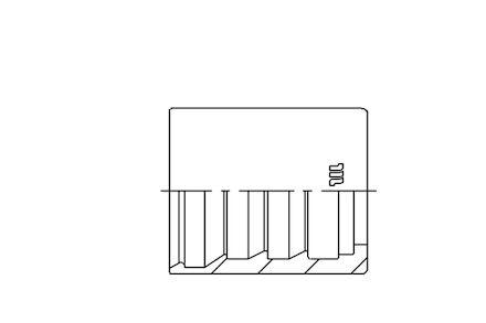 M00110 - Schilhuls voor hydrauliekslang met gevlochten staalinlagen product photo