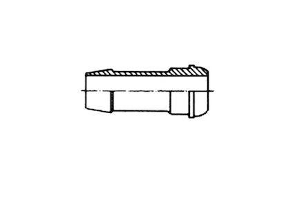 Adapteur femelle JIC - mâle métrique cylindrique photo du produit