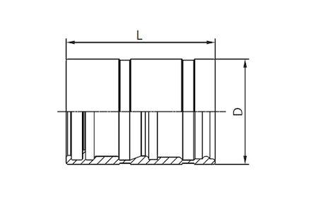Koeling/airco pershuls - voor Manuli RefriMaster slang product photo
