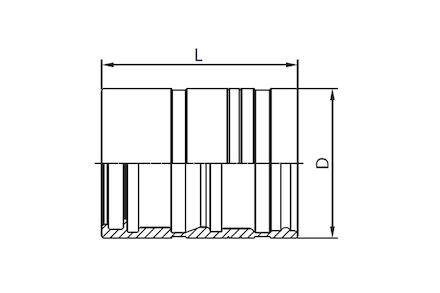 Koeling/airco pershuls - voor Manuli RefriMaster PLUS slang product photo