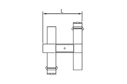 Koeling/airco slangkoppeling - RefriMaster klem DN08 product photo