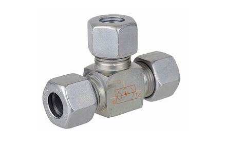 Shuttle Valve with Tube Connection S Series WV-Type product photo