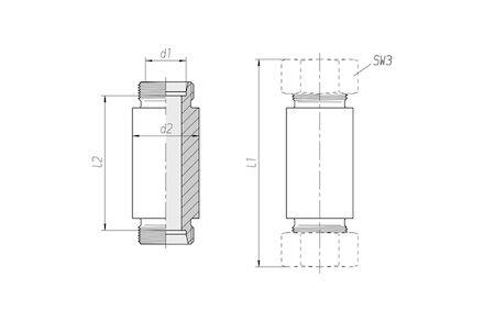 Snijringverbinding 24° - DIN 2353 - lasschotverbinding - serie Zwaar product photo
