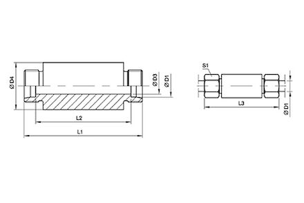 Snijringverbinding 24° - DIN 2353 - lasschotverbinding - serie Licht product photo