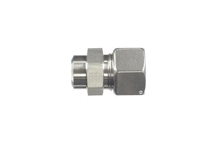 Snijringverbinding 24° RVS - DIN 2353 - aanlaskoppeling recht - serie Zwaar product photo