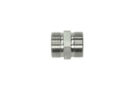 Stainless Cutting Ring Tube Coupling 24° - Straight Coupling Bodies - OMD- Heavy type photo du produit