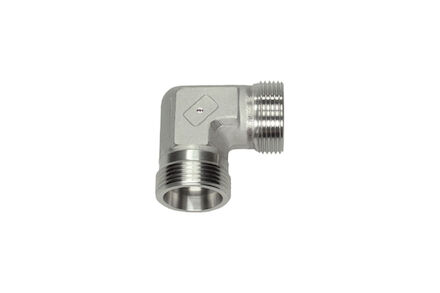 Stainless Cutting Ring Tube Coupling 24° - Equal Elbow Bodies - OMD - Heavy type photo du produit