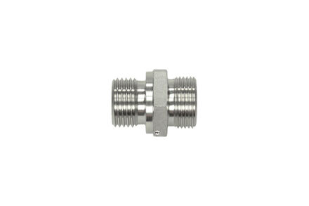 Stainless Cutting Ring Tube Coupling 24° - Male Stud Coupling Bodies - BSP - Parallel - Heavy type photo du produit