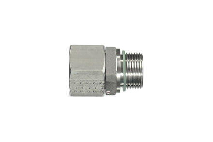 Snijringverbinding 24° RVS - DIN 3861 - BSP Parallel - DKO - serie Zwaar product photo