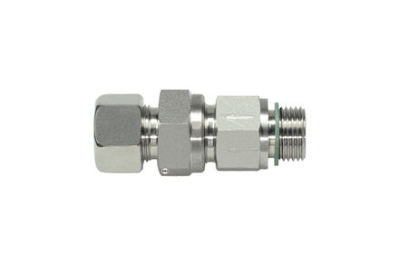 Stainless Non Return Valve - 24 degrees DIN Heavy type to BSP with Peflex seal product photo