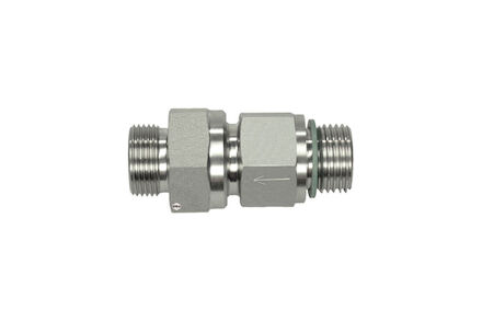 Stainless Non Return Valve - 24 degrees DIN Heavy type to BSP product photo