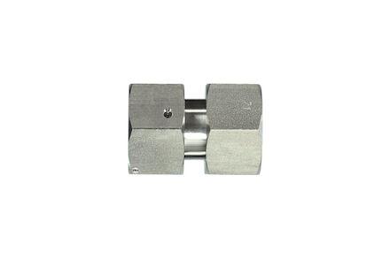 Snijringverbinding 24° RVS - DIN 3861 - verbindingskoppeling - DKO - serie Licht product photo