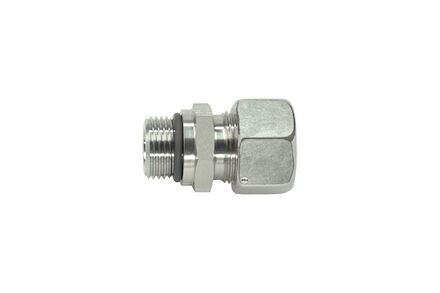 Male Stud Couplings L-Series - Thread: UNF - Sealing by O-ring in Thread Undercut - SAE J 514 photo du produit