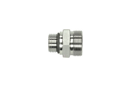 Stainless Cutting Ring Tube Coupling 24° - UNF Male Stud Coupling Bodies - OMD - Light type photo du produit