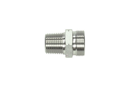 Stainless Cutting Ring Tube Coupling 24° - NPT Male Stud Coupling Bodies - OMD - Light type photo du produit