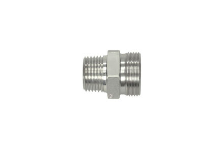Male Stud Coupling Bodies L-Series - Thread: BSP - Taper photo du produit