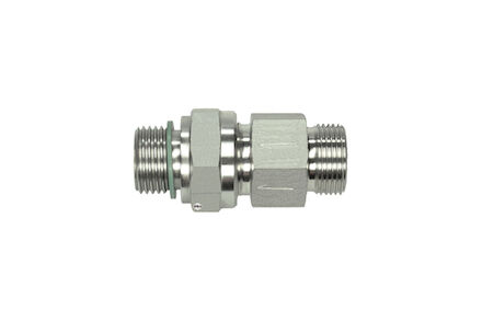 Stainless Tube Couplings Straight - 24 degrees DIN Light type - BSP product photo