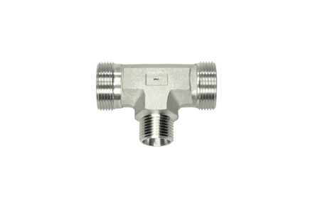 Stainless Tee Couplings 24 degrees DIN Light type - TRV product photo