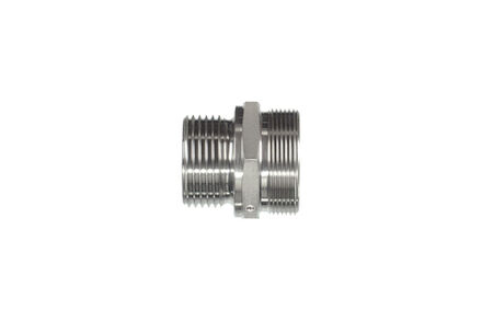 Straight adaptors BSP with sealing shoulder form B- Metric with 60° cone product photo