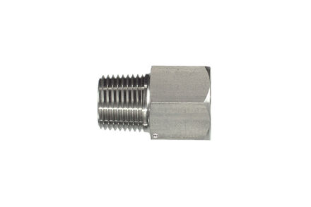 Stainless Adaptors NPTF male BSP fixed female product photo