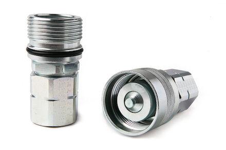Szybkozłącze Hydrauliczne - SKRĘCANE - ŻEŃSKIE - METRYCZNE product photo