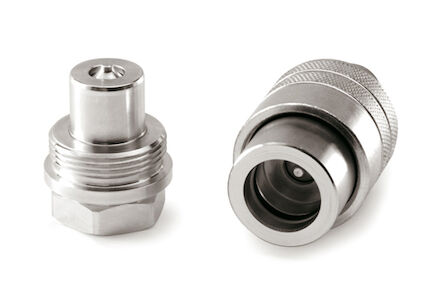 Hydraulic Quick Coupling - SCREW type High Pressure for Cylinders - FEMALE - NPT product photo