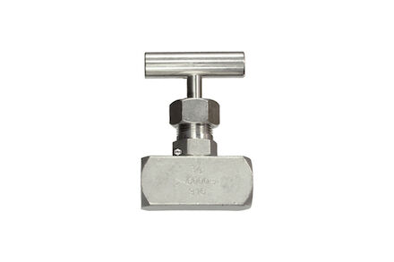 Stainless Needle Valve BSP Female Thread DIN / ISO 228 product photo