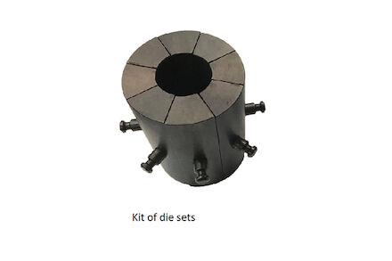 Kit 12 Die sets (15 18 21 24 27 30 33 39 45 51 57 66) MB240+ / MV240 product photo