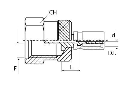 Měřicí hrot GW M16x2 s držákem product photo