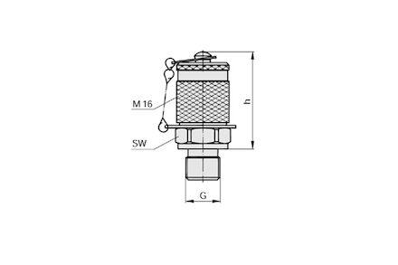 Przyłącze Pomiarowe - M16x2 / BSP - Uszczelneinie typu E product photo
