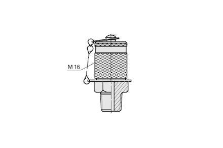 Przyłącze Pomiarowe - M16x2 / NPT - Uszczelneinie typu C product photo