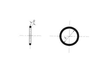 O-ring ORFS 17/16-12