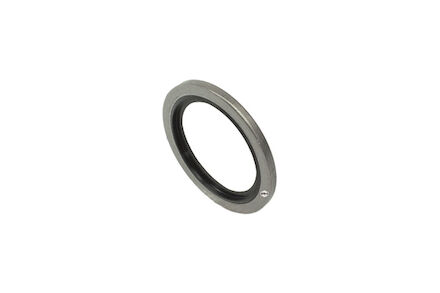 "Bague ""BS"", inox photo du produit"