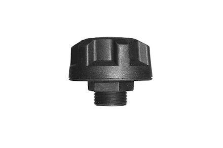 Beluchtingsfilter Plastic - Inschroef G1/2 - Diameter huis Ø70mm - 10 μm Foam / PUR filter