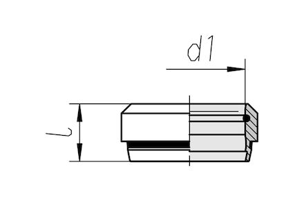 Snijringverbinding 24° - DIN 2353 - snijring ES-4 15L - serie Licht product photo