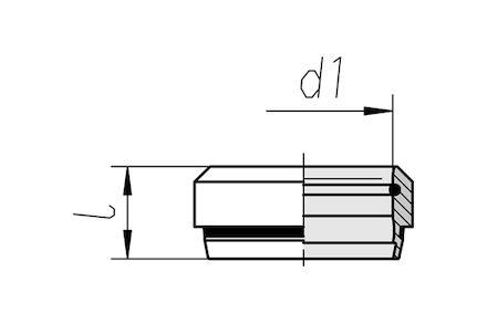 Snijringverbinding 24° - DIN 2353 - snijring ES-4 28L - serie Licht product photo