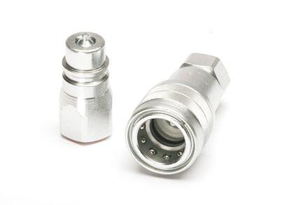 Steel standard locking balls type quick coupling NPTF female product photo