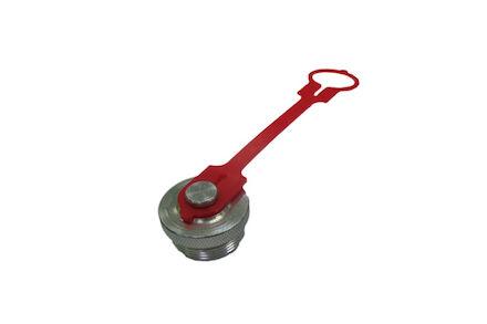 """Beschermplug voor snelkoppeling female MQS-SC (schroeftype voor hydraulische cylinders - 3/8"""" product photo"""